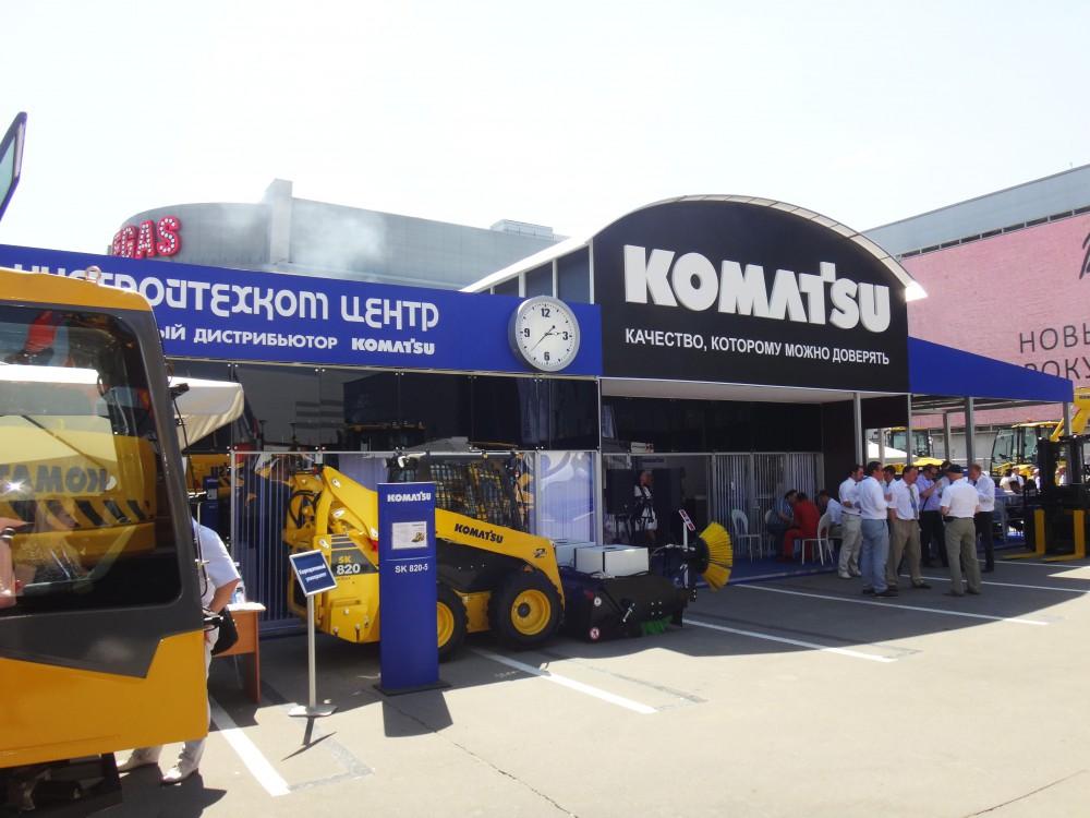 Коматсу, СТТ, 2014