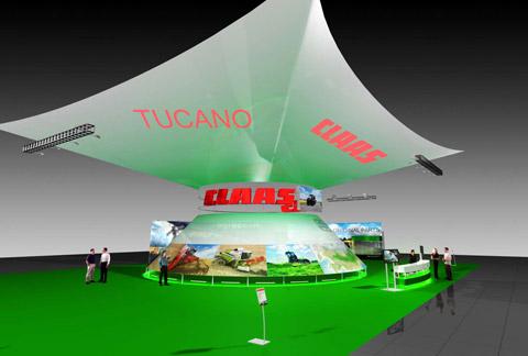 Стенд ООО «КЛААС Восток» выставка «Золотая Осень», 2007