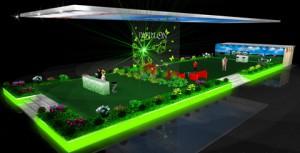 Стенд компании ООО «Живые Диваны» (PAPILON, MOON) выставка «МЕБЕЛЬНЫЙ КЛУБ», 2007