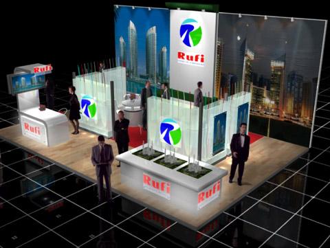 Стенд компании Rufi Выставка «EXTRAVAGANZA»,2007, Манеж (строились одновременно)