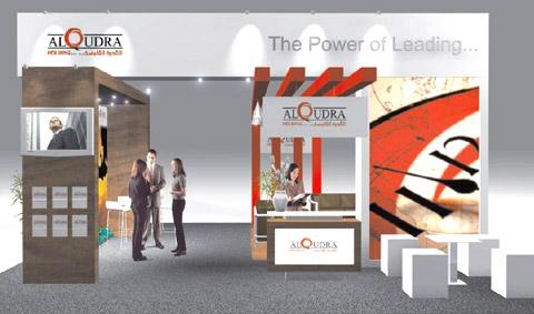 Стенд компании ALQUDRA Выставка «EXTRAVAGANZA», 2007, Манеж (строились одновременно)
