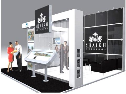 Стенд компании SHAIKH Выставка «EXTRAVAGANZA», 2007, Манеж (строились одновременно)