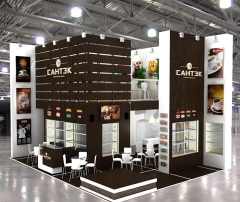 Стенд компании «Сантэк», выставка Продэкспо, 2013