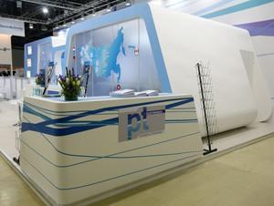 Стенд компании «PTI», выставка Новая электроника, 2013