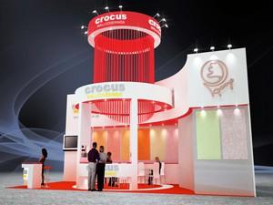 Стенд компании «Crocus», выставка Мосбилд, 2013