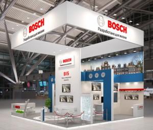 Стенд компании «Bosch», выставка МИПС, 2013