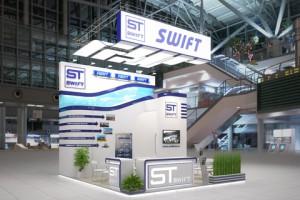 Стенд компании «SWIFT», выставка ТрансРоссия, 2013
