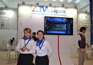 Стенд компании «TVA», выставка ТрансРоссия, 2013