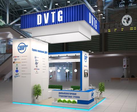 Стенд компании «ДВТГ», выставка ТрансРоссия, 2013