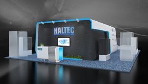 Стенд компании «Халтек», выставка Металлэкспо, 2013