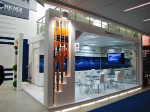 Стенд компании «НКМЗ», выставка Нефть и Газ, 2013
