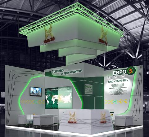 Стенд компании «ТАИФ НК», выставка Химия, 2013