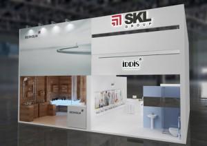 Стенд компании «SKL», выставка «Мосбилд», 2014