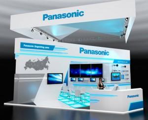 ССтенд компании «Panasonic», ВВЦ, 2014