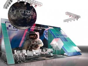 Стенд ООО «Юнит Клаб» выставка канцелярских и офисных товаров «СКРЕПКА ЭКСПО», 2008