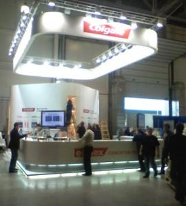 Стенд ЗАО «Колгейт-Палмолив» выставка 23-й Московский международный стоматологический форум «Стоматологический салон», 2008
