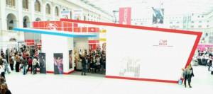 Стенд ООО «Руссвелл» проект «WELLA» Международный фестиваль «Мир красоты», 2008