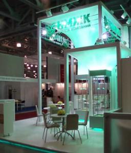 Стенд «НМЖК» выставка «Ингредиенты» Заказ и дизайн ООО «Рашн Креатив Центр», 2008