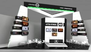 Стенд «НТВ +» выставка «NATEXPO» Заказ и дизайн ООО «Рашн Креатив Центр», 2008
