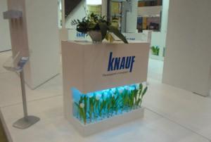 Стенд компании «KNAUF» выставка «МосБилд», 2009