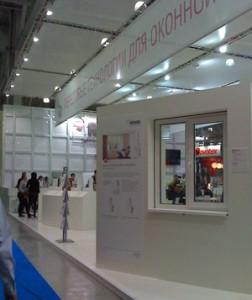 Стенд компании «REHAU» выставка «МосБилд», 2009