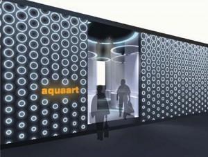 Стенд компании «Aquaart» Выставка «МосБилд», 2010