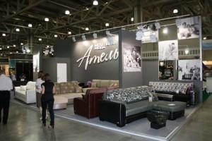 Стенд компании Ателье Мебельная Мода Специализированная выставка-ярмарка мебели, 2010