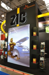 Стенд компании ZIC «Мотор Шоу», 2010