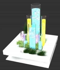 Элемент выставочного стенда ФОНТАН, 2010