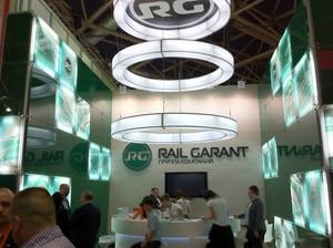 Стенд компании «RailGarant», Выставка «ТрансРоссия «, 2011