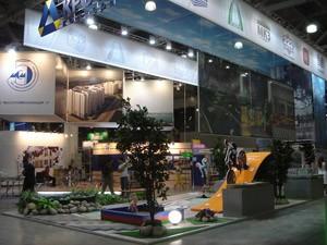 Стенд компании «Крост», Строительная неделя Подмосковья, 2011
