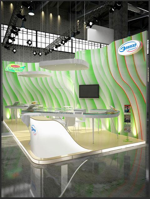 Стенд компании «Элинар Бройлер», Выставка «Продэкспо», 2012