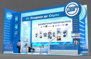 Стенд компании «Дальневосточная Транспортная Группа», Выставка «ТрансРоссия», 2012