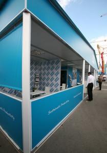 Стенд компании «Atlas Copco», Выставка «СТТ», 2012