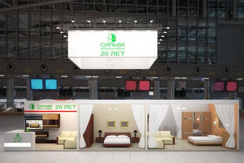 Стенд компании «Сильва», Выставка «Мебель», 2012