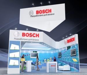 Стенд компании «Bosch», Выставка «ISR», 2012