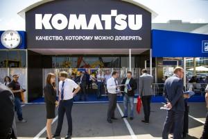 КОМАТСУ, выставка СТТ, 2016
