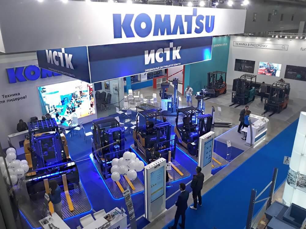 Коматсу, CeMAT, 2018