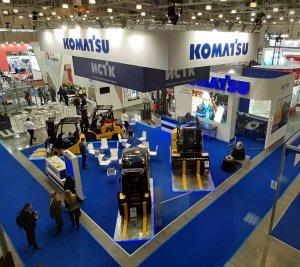 Komatsu, CeMAT RUSSIA 2019